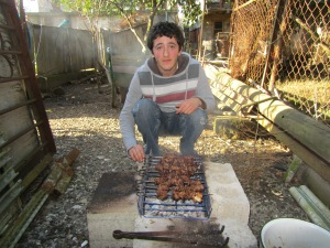 Georgian barbeque.
