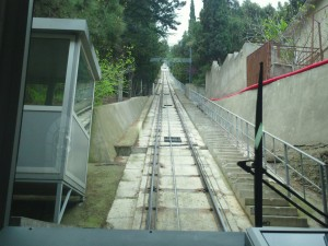 Cable car (Funicular) in Tbilisi