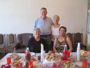 With our PST host mom, Nana and Bebia Zizi in Telavi, Georgia