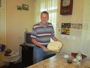 Tom's 69th birthday cake.