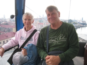 A ride on the newly built Gondola in Batumi which allows a full view of the city at the top.